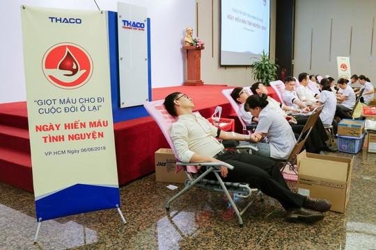 THACO hiến tặng 2.000 đơn vị máu trong năm 2019 - Ảnh 1.