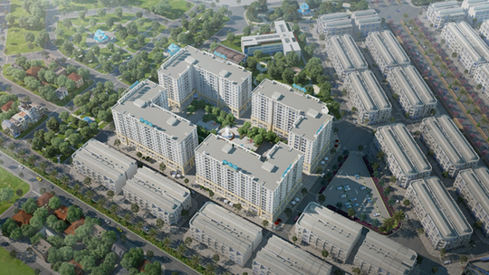 Các dự án căn hộ tại Hạ Long đạt tiến độ thi công ấn tượng - Ảnh 1.