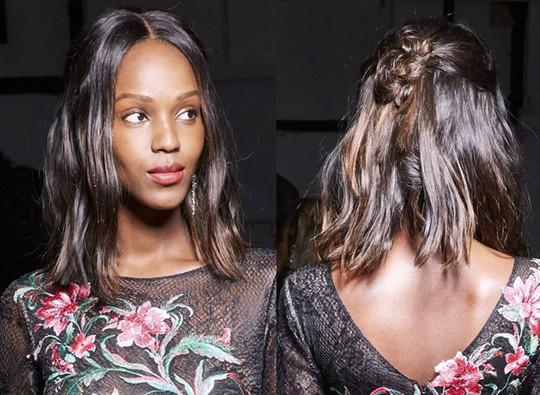 Những kiểu tóc đẹp trên sàn diễn thời trang mà bạn có thể học theo - Ảnh 18.