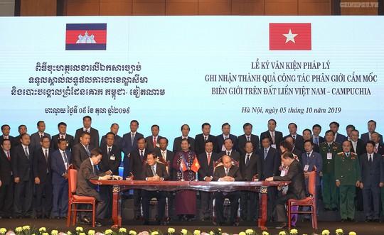 Việt Nam và Campuchia đã phân giới cắm mốc 1.045/1.245 km đường biên giữa hai bên - Ảnh 4.