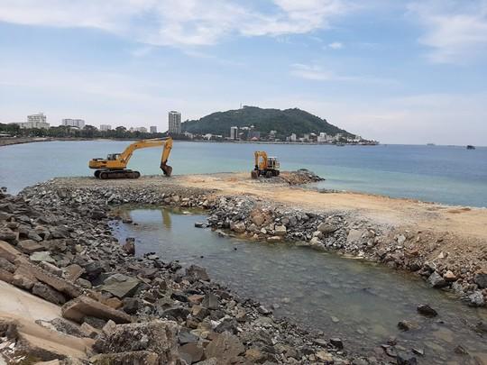 Ngỡ ngàng trước dự án lấp biển khủng giữa Vũng Tàu - Ảnh 1.