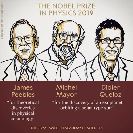 Nobel Vật lý 2019 vinh danh nghiên cứu về vũ trụ - Ảnh 2.