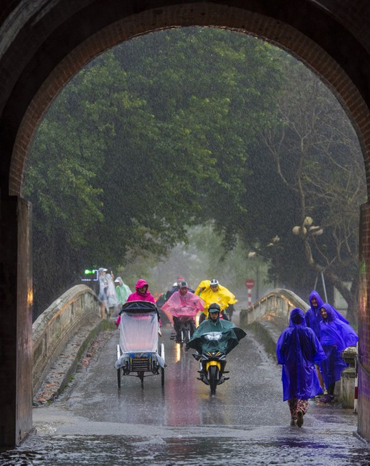 Khoảnh khắc mưa lãng mạn ở Huế - Ảnh 30.