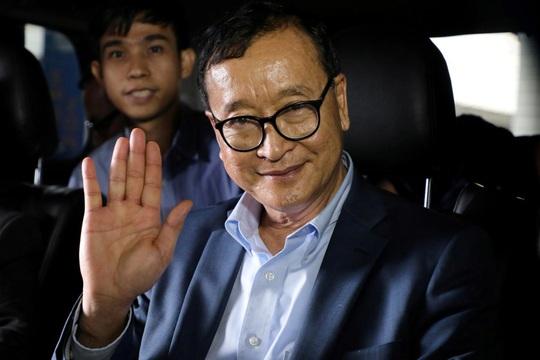 Campuchia miễn quản thúc tại gia cho lãnh đạo đối lập Kem Sokha - Ảnh 2.