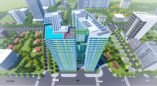 Dự án Victoria Garden- hướng đến công nghệ xanh - Ảnh 2.