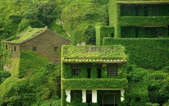 Ngôi làng bỏ hoang hóa như xứ sở cổ tích - Ảnh 4.
