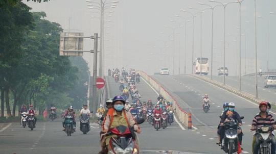 TP HCM ô nhiễm trên diện rộng - Ảnh 1.