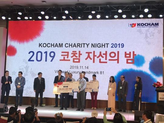 Nhận về hơn 4 tỉ đồng từ Đêm từ thiện KOCHAM - Ảnh 1.