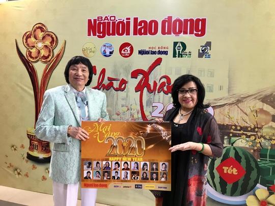 Nghệ sĩ Minh Vương, Lệ Thủy, Thành Lộc hồ hởi giới thiệu lịch Mai Vàng – Xuân Canh Tý - Ảnh 1.