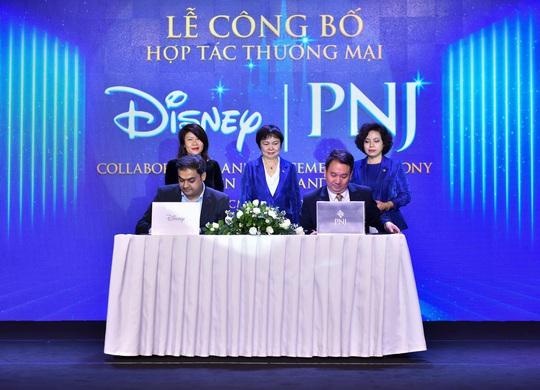 PNJ bắt tay hợp tác Walt Disney sau khi bước lên đỉnh Châu Á - Ảnh 1.
