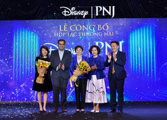 PNJ bắt tay hợp tác Walt Disney sau khi bước lên đỉnh Châu Á - Ảnh 2.