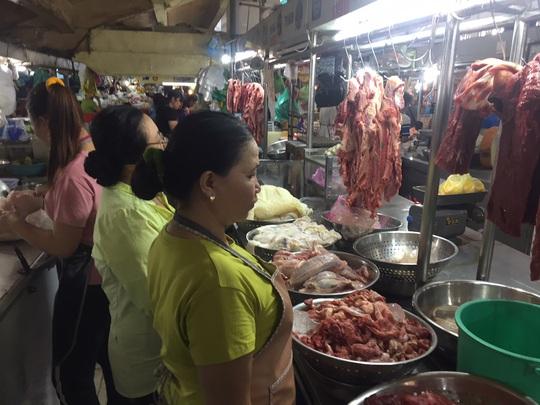 Thịt heo tăng giá dắt dây - Ảnh 1.