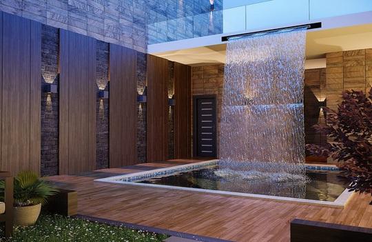 Ngôi nhà phố sở hữu hồ bơi tuyệt đẹp - Ảnh 2.