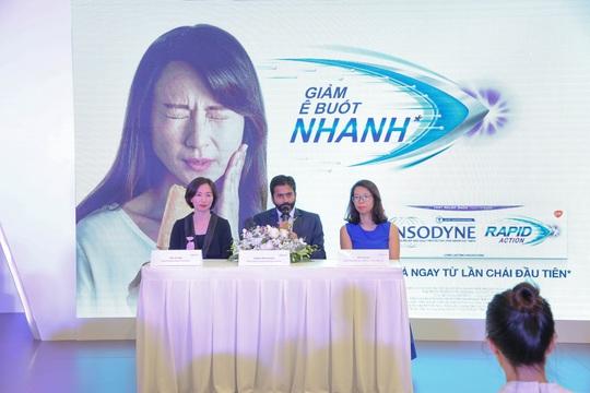 Ra mắt sản phẩm Sensodyne Rapid Action tại Việt Nam - Ảnh 1.