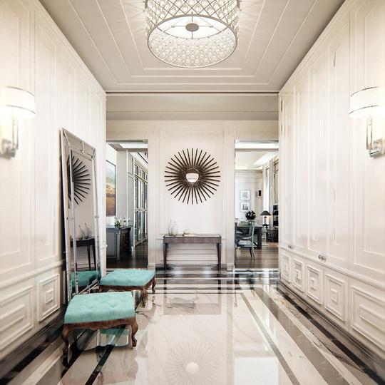 Căn hộ mang phong cách kiến trúc Pháp sang trọng - Ảnh 1.
