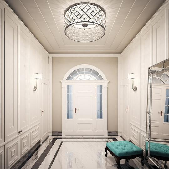Căn hộ mang phong cách kiến trúc Pháp sang trọng - Ảnh 2.