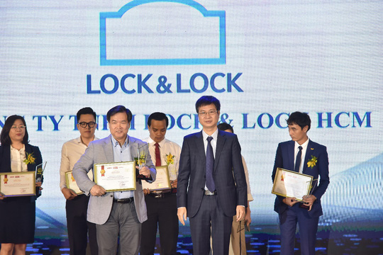 Lock & Lock lần thứ 4 lọt Top 10 sản phẩm, dịch vụ Tin & Dùng - Ảnh 1.