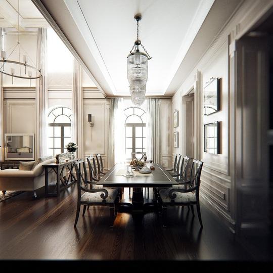 Căn hộ mang phong cách kiến trúc Pháp sang trọng - Ảnh 4.