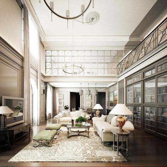 Căn hộ mang phong cách kiến trúc Pháp sang trọng - Ảnh 8.