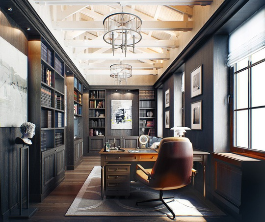 Căn hộ mang phong cách kiến trúc Pháp sang trọng - Ảnh 10.