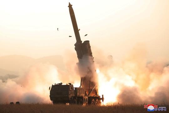 Triều Tiên muốn Mỹ - Hàn hết tập trận chung - Ảnh 1.