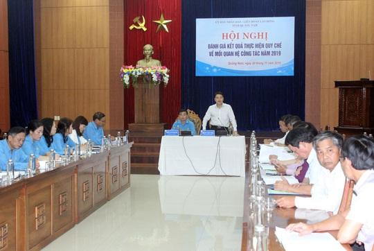 Quảng Nam: Chính quyền phối hợp, hỗ trợ Công đoàn - Ảnh 1.