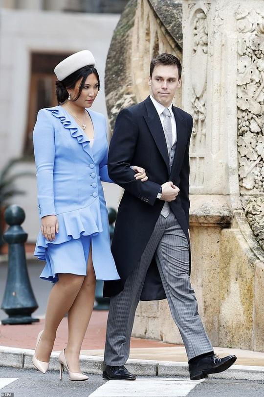 Nàng dâu gốc Việt nổi bật trong sự kiện Hoàng gia Monaco - Ảnh 1.