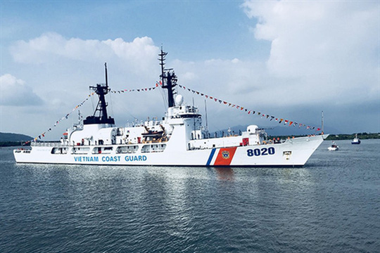 Người Phát ngôn trả lời câu hỏi Mỹ sắp chuyển giao cho Việt Nam một tàu tuần tra? - Ảnh 2.