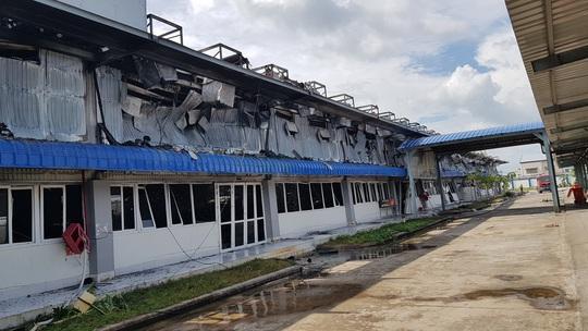 Cam kết của Công ty May Nhà Bè - Sóc Trăng sau vụ cháy thiệt hại 180 tỉ đồng - Ảnh 2.