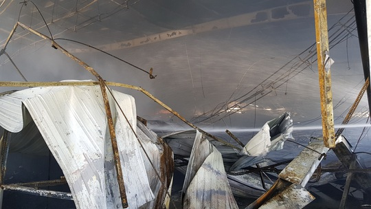 Cam kết của Công ty May Nhà Bè - Sóc Trăng sau vụ cháy thiệt hại 180 tỉ đồng - Ảnh 3.