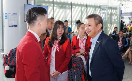 Nhiều chuyến bay thẳng đặc biệt đến Philippines đưa VĐV dự SEA Games 30 - Ảnh 2.