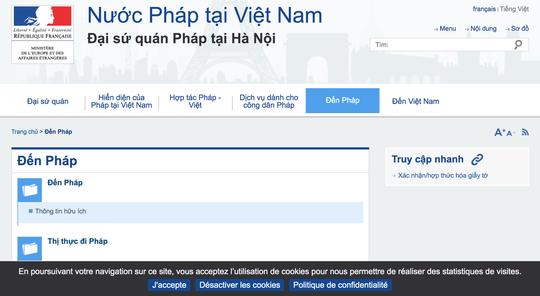 Đại sứ quán Pháp nói gì về việc siết quy trình xét cấp thị thực Schengen với công dân Việt Nam? - Ảnh 1.
