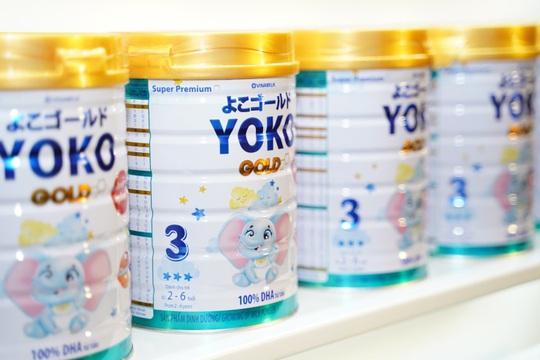 Vinamilk đem dưỡng chất từ Nhật vào sữa Yoko Gold - Ảnh 1.