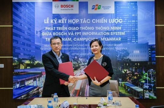 Bosch và FPT IS cung cấp giải pháp giao thông thông minh - Ảnh 1.