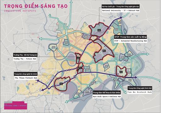 Dự kiến 2021, TP HCM triển khai Khu đô thị sáng tạo phía Đông - Ảnh 1.