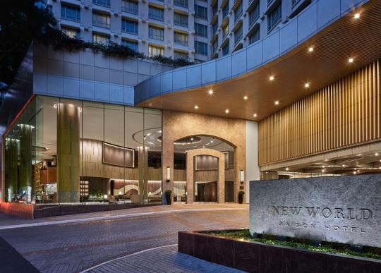 Khách sạn New World thay đổi diện mạo mới - Ảnh 1.