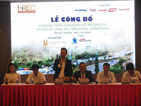 Caravan kết nối đầu tư TP HCM và Long An, Tiền Giang, Đồng Tháp - Ảnh 1.