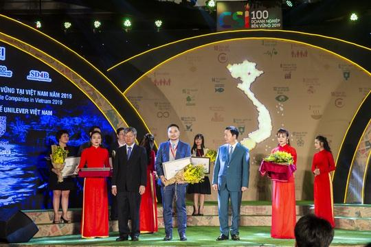 Unilever Việt Nam được vinh danh Top 10 Doanh nghiệp bền vững nhất - Ảnh 1.