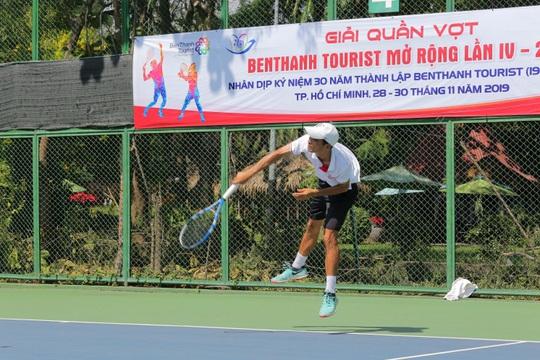 Hơn 400 tay vợt tranh tài tại giải Quần vợt Benthanh Tourist mở rộng lần IV - Ảnh 3.
