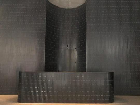 Bên trong tòa nhà có hình thù kỳ dị ở New York - Ảnh 4.