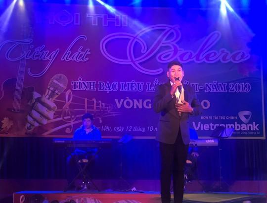 Cụ ông 91 tuổi hát rất ngọt tại Hội thi Tiếng hát Bolero tỉnh Bạc Liêu - Ảnh 4.