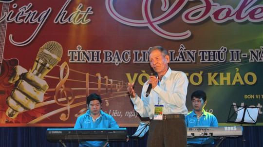 Cụ ông 91 tuổi hát rất ngọt tại Hội thi Tiếng hát Bolero tỉnh Bạc Liêu - Ảnh 12.