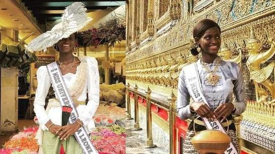Hoa hậu nghèo từng lỡ cuộc thi Thái Lan đã đến Mỹ an toàn - Ảnh 2.