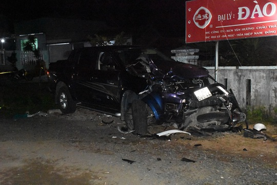 Phú Yên: Tai nạn thảm khốc, 4 người chết - Ảnh 1.
