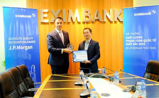 Eximbank liên tiếp nhận giải Thanh toán xuất sắc - Ảnh 1.