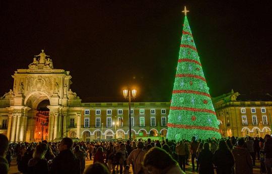 Choáng ngợp những cây thông Noel lung linh trên khắp thế giới - Ảnh 1.