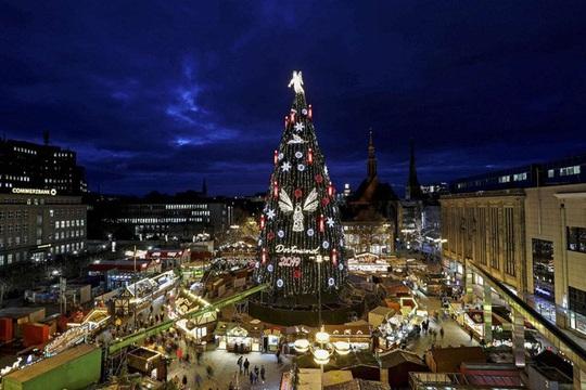Choáng ngợp những cây thông Noel lung linh trên khắp thế giới - Ảnh 5.