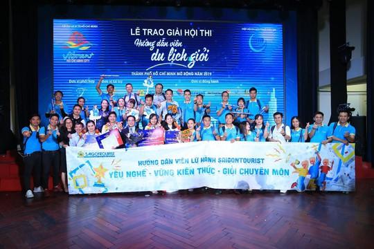 Hướng dẫn viên Lữ hành Saigontourist thể hiện xuất sắc tại Hội thi Hướng dẫn viên TP HCM - Ảnh 3.
