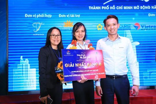 Hướng dẫn viên Lữ hành Saigontourist thể hiện xuất sắc tại Hội thi Hướng dẫn viên TP HCM - Ảnh 4.
