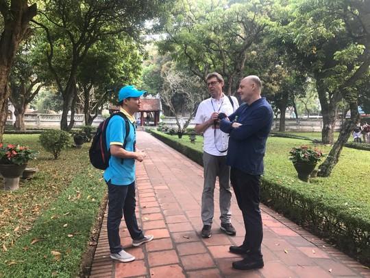 Hướng dẫn viên Lữ hành Saigontourist thể hiện xuất sắc tại Hội thi Hướng dẫn viên TP HCM - Ảnh 6.